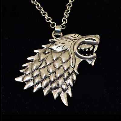 New Game of Thrones Stark Direwolf Fashion Vintage Pendant Inspired Necklace