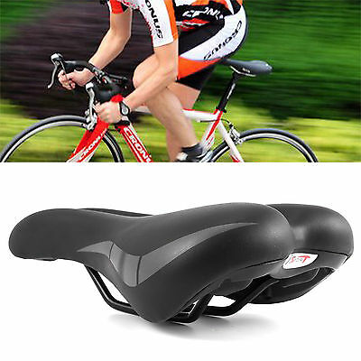 Road MTB Mountain Bike Bicycle Saddle Spring Seat Soft Gel Padded Cushion Cover