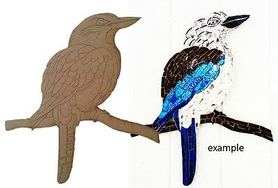 Kookaburra Bird - Wooden Cut-out 360x310mm