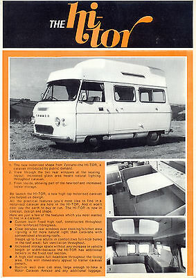 Commer Hi-Tor by Torcars UK market sales brochure