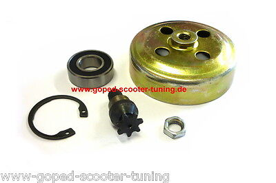 Pocket Bike Kupplungsglocke Dirt Bike Miniquad Ritzel Sprocket Clutch 010727-