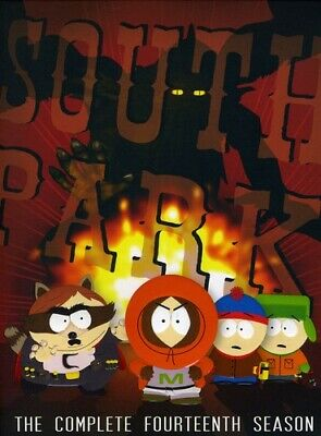 South Park: The Complete Fourteenth Season [3 Discs] (2011, DVD NEW)
