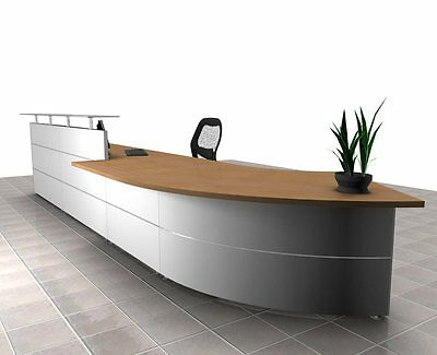 Design Rezeption verschiedene Dekore EmpfangsthekeTresen Theke Reception Desk