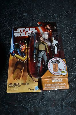 "2015 Star Wars The Force Awakens Kanan Jarrus 3.75 "" Action Figure"