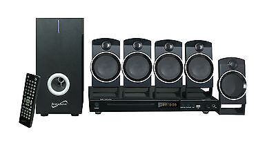 Supersonic SC-37HT 5.1 Ch DVD Home Theater System USB In/Karaoke Function/Remote