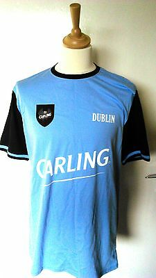 County Dublin (Ireland) Carling GAA Gaelic Football Jersey (Adult Large)