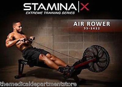 Stamina X AIR ROWER Rowing Machine 35-1412 - Cardio Exercise - BRAND NEW 2017
