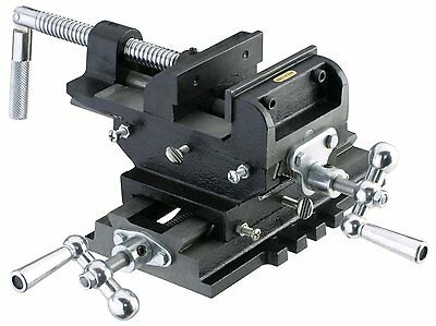 "New 6"" Metal Milling Cross Drill Press Vise Slide 2 Way X-Y Clamp Machine"