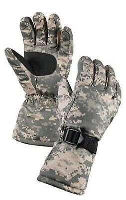 US Army Combat Uniform Ucp at Digital Deluxe ECWCS Thermal Block Gloves Xl