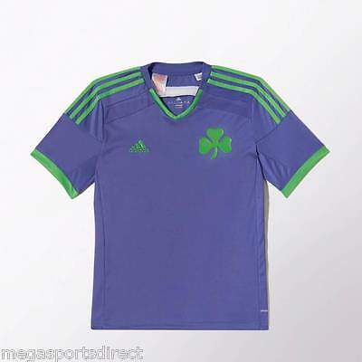adidas  Panathinaikos Away Childrens Football Shirt Shamrock Celtic Greece BNWT