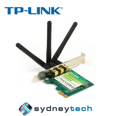 New TP-Link TL-WDN4800 Wireless 450MBPS Dual Band PCI Express Adapter