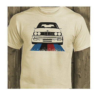 BMW 3 Series 1980's E30 and 320i Retro Natural Gift T-Shirt