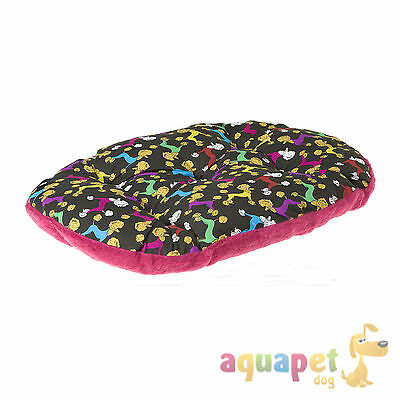 Ferplast Relax Cushion / Dog Bed - Poodle Pattern - Various Sizes