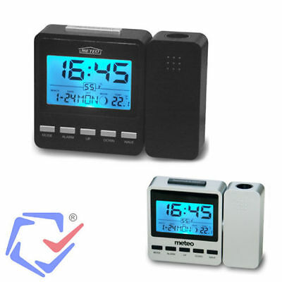Meteo ZP9 Alarm with Projector and Weather Station German CET clock only