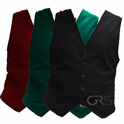 Waiters Hospitality Waist Coats for Bar Staff Fancy dress Halloween costumes