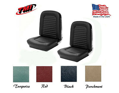 1966 Ford Mustang Any Color Front Bucket Seat Upholstery Made in USA by TMI
