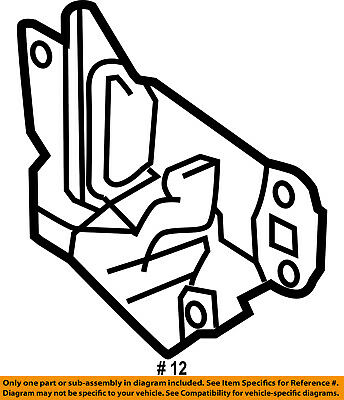 Ford Oem Hood Lock Latch 8l8z16700a