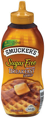 Smuckers Sugar Free Breakfast Syrup 429 ml, Low Carb, Diabetic