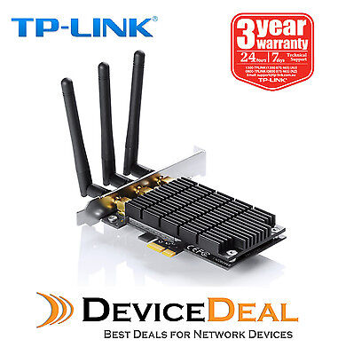 TP-Link Archer T9E AC1900 Dual Band Wireless PCI Express Adapter, Broadcom