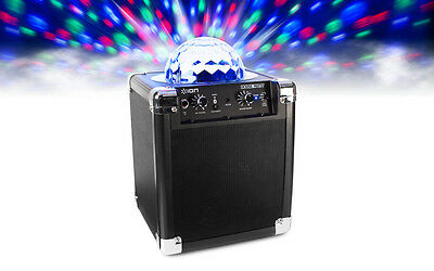 ION House Party Bluetooth Wireless Speaker System Built In Light Show Party
