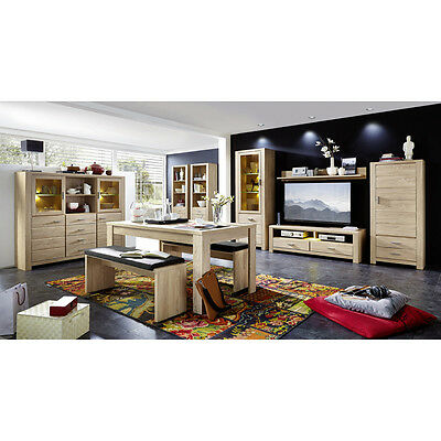 wohnzimmer sets m bel m bel wohnen. Black Bedroom Furniture Sets. Home Design Ideas