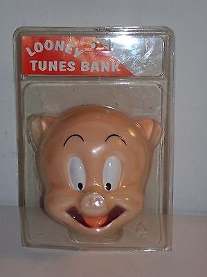 1997 Looney Tunes Porky Pig Coin Bank Collectible Piggy Bank Still in Package