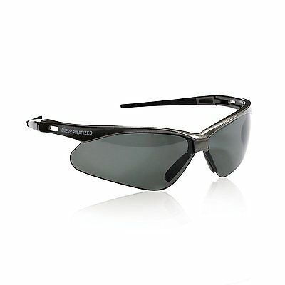 58f6b51d6c73 JACKSON NEMESIS V30 POLARIZED 3023625 Gun Metal Safety Glasses Smoke Lens  28635