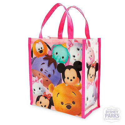 Disney Minnie Mouse and Friends Tsum Tsum Reusable Vinyl Tote - Small
