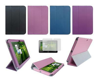 Folio Skin Cover Case and Screen Protector for Acer Iconia A700 Tablet