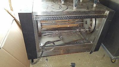 Hickory Commercial Electric Rotisserie Oven N/5.5 EM 208 3 Phase Pass Through