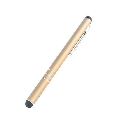 xUNIVERSAL CLIP GOLDEN TOUCH SCREEN STYLUS PENS For Mobile Phones Tablet PC iPad