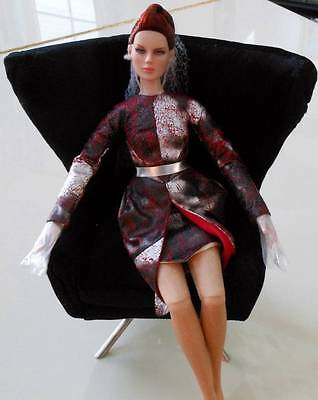 """16"""" FBR Sybarite Superfrock Superdoll HeadSpinner Chair~NO Doll~LE 40~NEW~Rare!"""