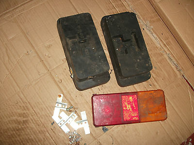 Pair of Trailer Tail Lights - Old but never fitted or used.  3305