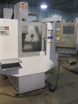 "2005 HAAS Super Mini Mill 16"" x""12"" x 10""; BRAND NEW SPINDLE."
