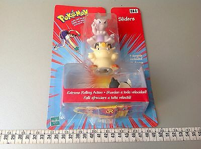 Pokemon Sliders  Extreme Rolling Action  1999 Mewtwo Meowth  Moc
