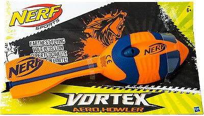 NERF Vortex Mega Heuler Wurfrakete Aero Howler - Farbe: Orange - Football Rocket