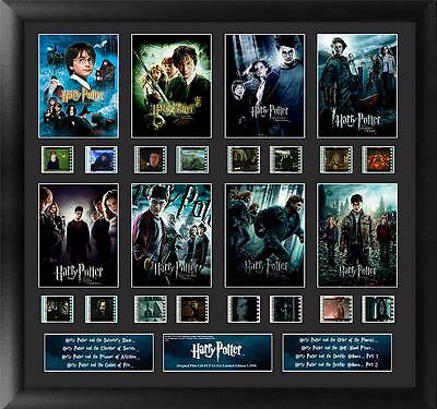 Harry Potter Film Cell 1 to 7 Finale Large Mixed Montage