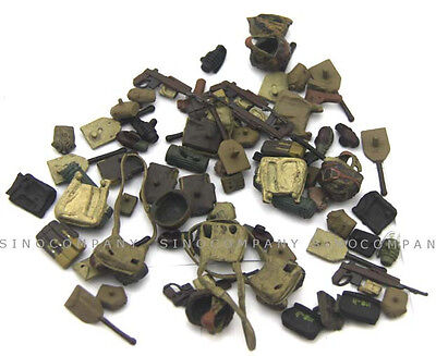 Random 15x accessories For 21st Century Ultimate 1:18 Soldier Figure Toys Gift