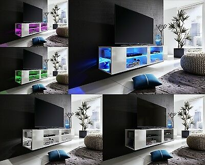 tv turm primo media m bel tv wand in anthrazit hochglanz lackiert eur 193 95 picclick de. Black Bedroom Furniture Sets. Home Design Ideas
