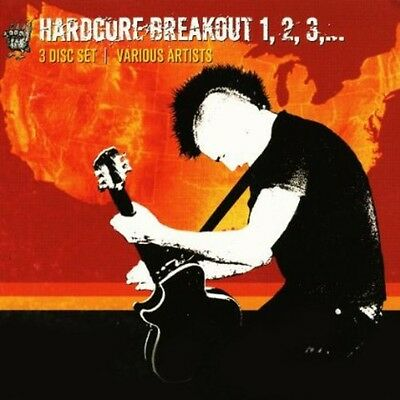 Various Artists - Hardcore Breakout 1 2 3 / Various [New CD] 3 Pack