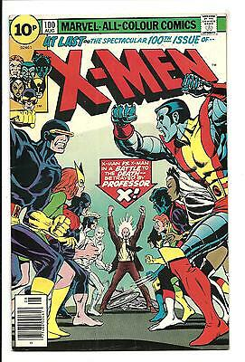 X-MEN # 100 (OLD X-MEN vs NEW X-MEN, AUG 1976), FN/VF