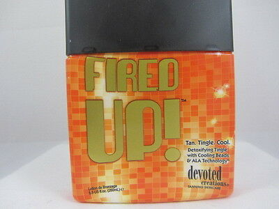 FIRED UP HOT/TINGLE TANNING LOTION by DEVOTED CREATIONS