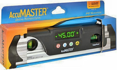 Calculated AccuMaster 7200 Digital Waterproof Torpedo Level with Priority Mail