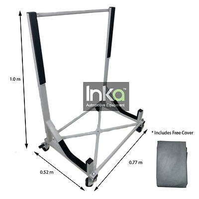 Convertible Hardtop Storage Steel Trolley Stand For Mercedes 420SL  450SL 500SL