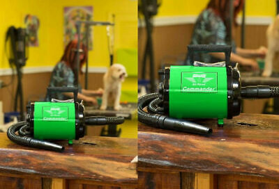 Metro Vac Air Force Commander Green Color 2 Speed 4 Hp Dog Pet Grooming Dryer