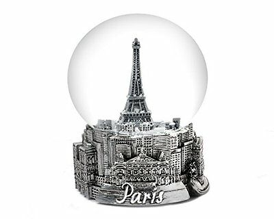 NEW Paris France Eiffel Tower Snow Globe 65mm FREE SHIPPING