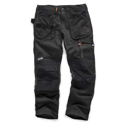 Scruffs Work Trousers 3D Trade Graphite With Cordura Fabric & Knee Pad Pockets