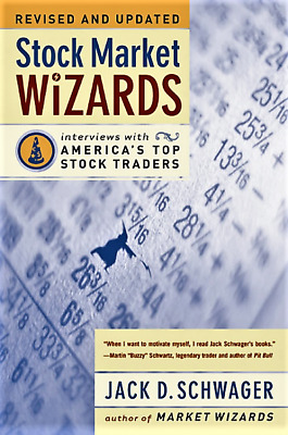 STOCK MARKET WIZARDS Revised Edition Jack D. Schwager BRAND NEW BOOK Case-Fresh!