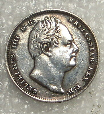 1834 Great Britain 6 Pence ungraded