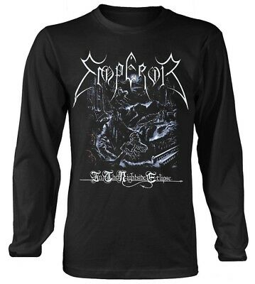 Emperor 'In The Nightside Eclipse' Long Sleeve Shirt ?- NEW & OFFICIAL!
